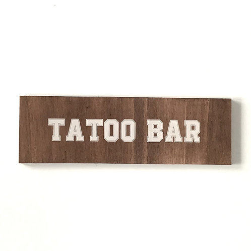 Flèche tatoo bar 2