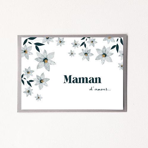 P-Carte maman d'amour