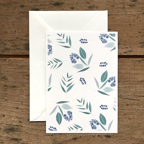 Carte postale Myrtille sauvage