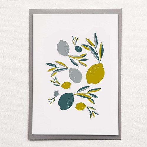 P-Affiche citron