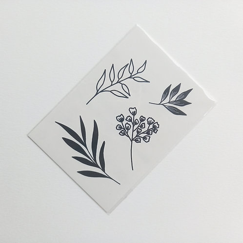 Tatouage plantes