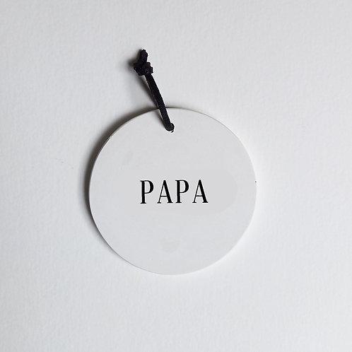 P-Médaillon PAPA