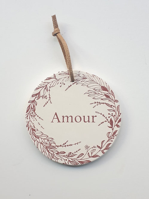 Amour sauvage terracotta