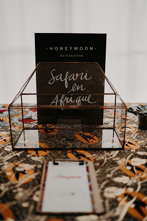 Panneau Honeymoon 30x40