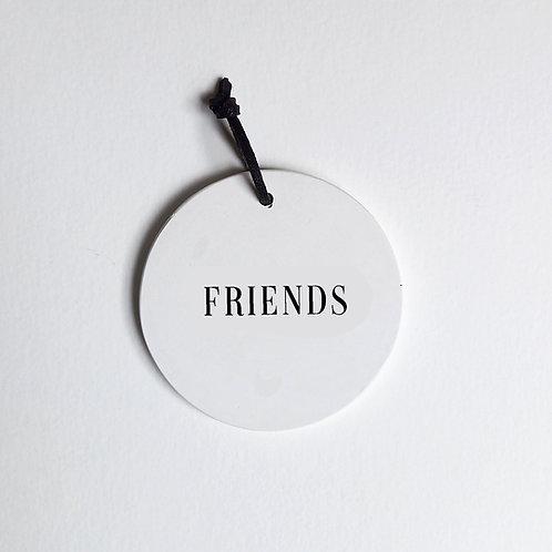 P-Médaillon Friends