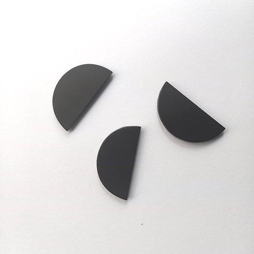 Lot de 3 Bijoux Muraux noirs