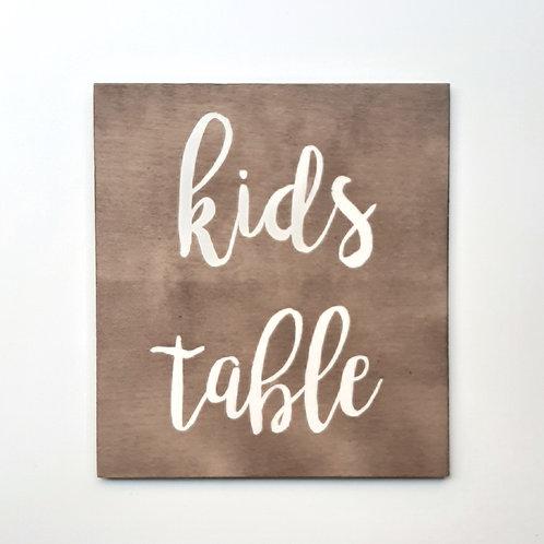 Kids table 2