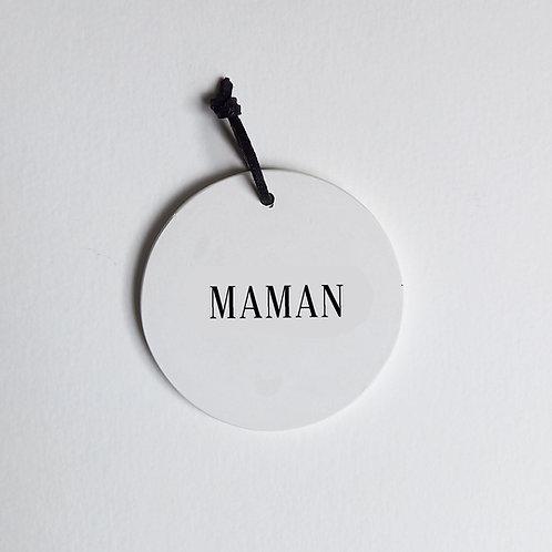 P-Médaillon Maman