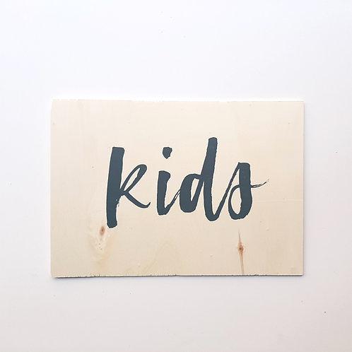 Panneau Kids 1