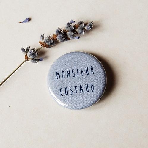 Badge Monsieur costaud