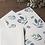 Thumbnail: Carte postale Myrtille sauvage