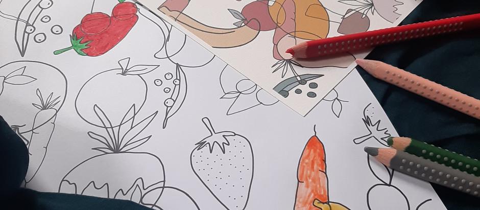 Coloriage fruits&légumes