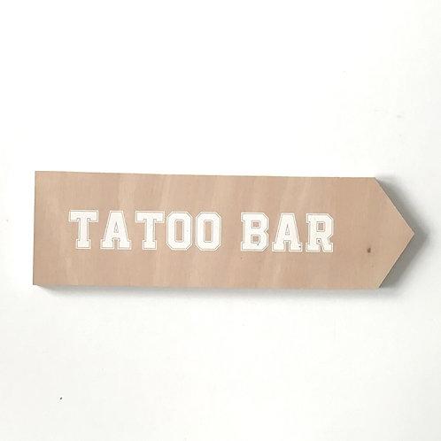 Flèche tatoo bar 3