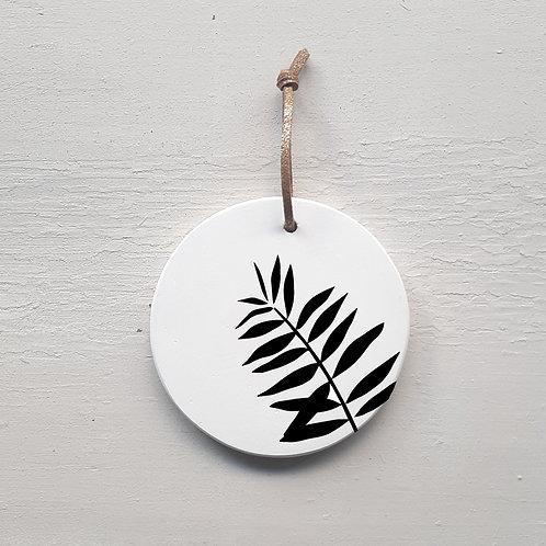 Médaillon palmier