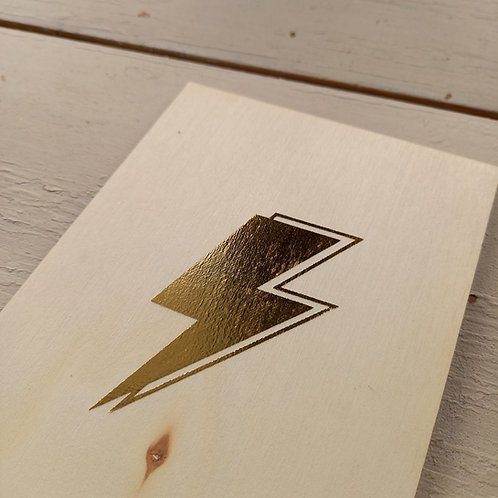 Carte Or éclair