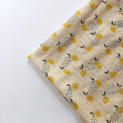 Tissu Gold Citron