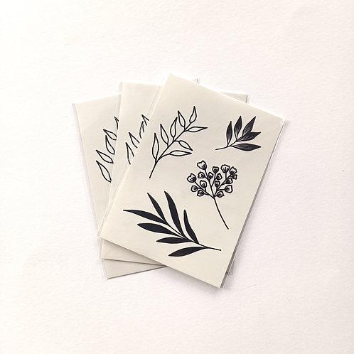 P-Tatouage plantes