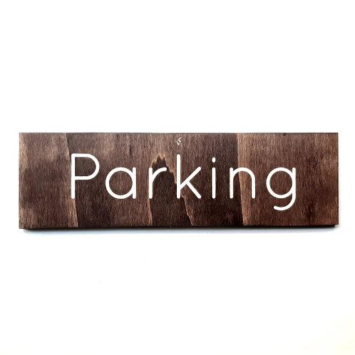 Panneau parking 3