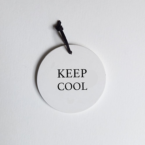 P-Médaillon Keep cool