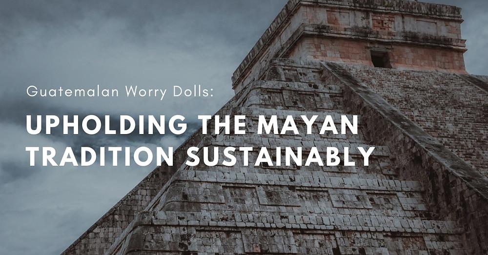 Mayan historic pyramid