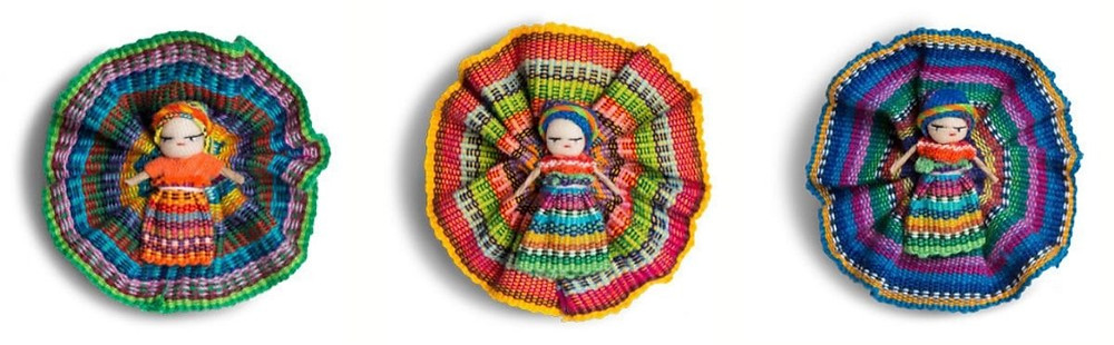 3 custom made handicrafts from Guatemala
