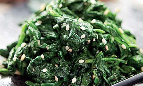 Siguemchi Namul (Korean Spinach Side Dish)