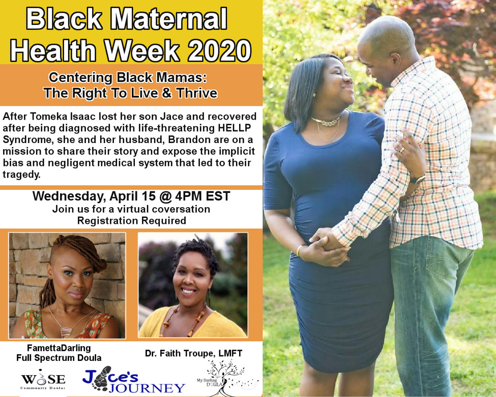 Black Maternal Health Week 2020