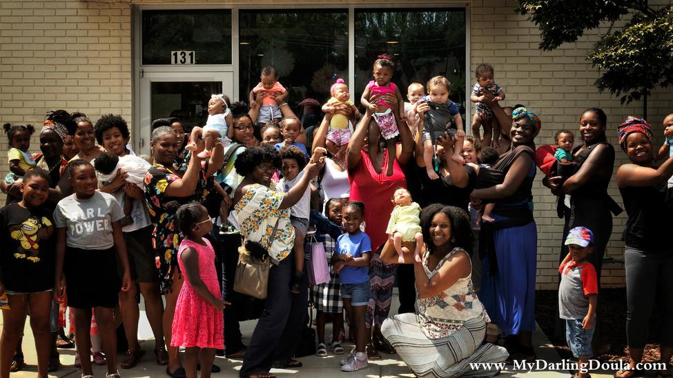 Queen's Milk: A Celebration of Black Breastfeeders in the Queen City