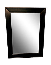 Black Framed Mirror