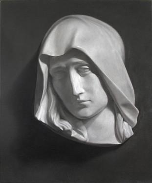 Cast Study, oil on canvas