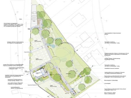 Laubenheim erhält substanzielle finanzielle Unterstützung bei der Neugestaltung des Friedhofgeländes