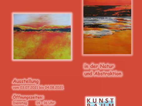 """Ausstellung """"Suche nach Schönheit und Geborgenheit"""", Angelika Nocka."""