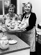 WNDA - Fundraising - Some of our supporters holding a bake sale to raise funds for our services