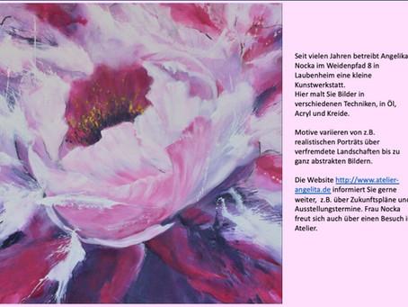 Eine Künstlerin in Laubenheim: Angelika Nocka