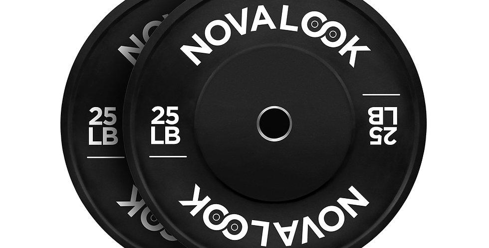 Novalook 25LB 2.0 Bumper Plate Pair