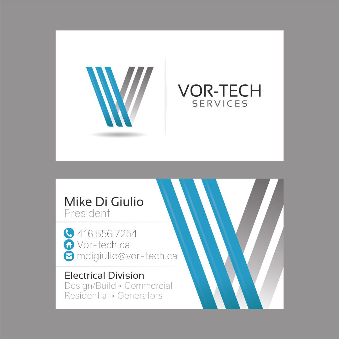 Vor-Tech Business Card