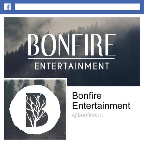 Bonfire Entertainment Facebook Design
