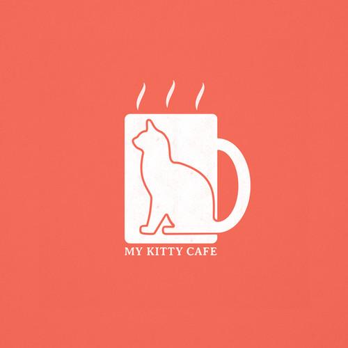 My Kitty Cafe Logo Idea