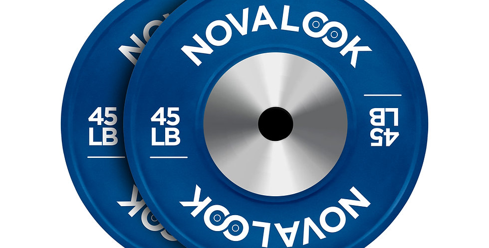 Novalook 45LB Competition Bumper Plate 2.0 Pair
