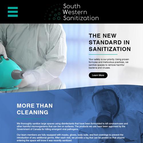 South Western Sanitization Website