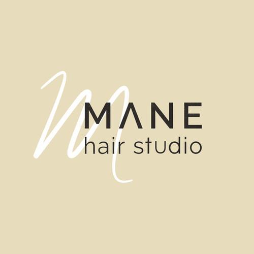 Mane Hair Studio Logo