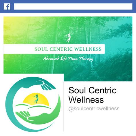 Soul Centric Wellness Facebook Design