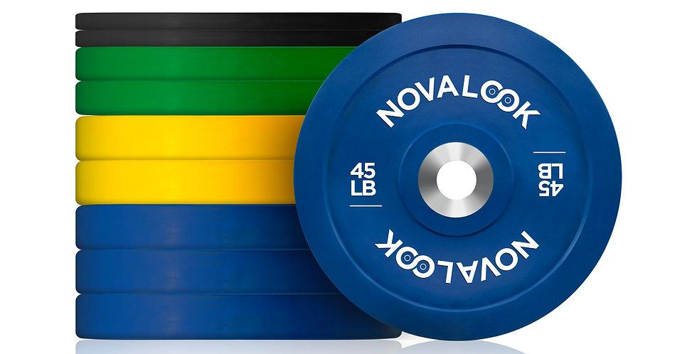 320LB Novalook 2.0 Bumper Plate Set