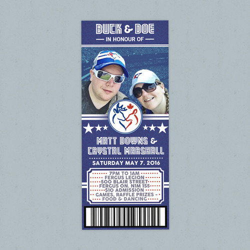 Buck & Doe Ticket