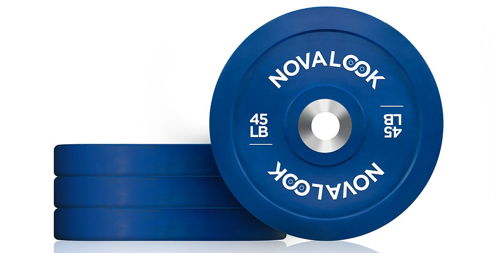 180LB Novalook Bumper Plate Set