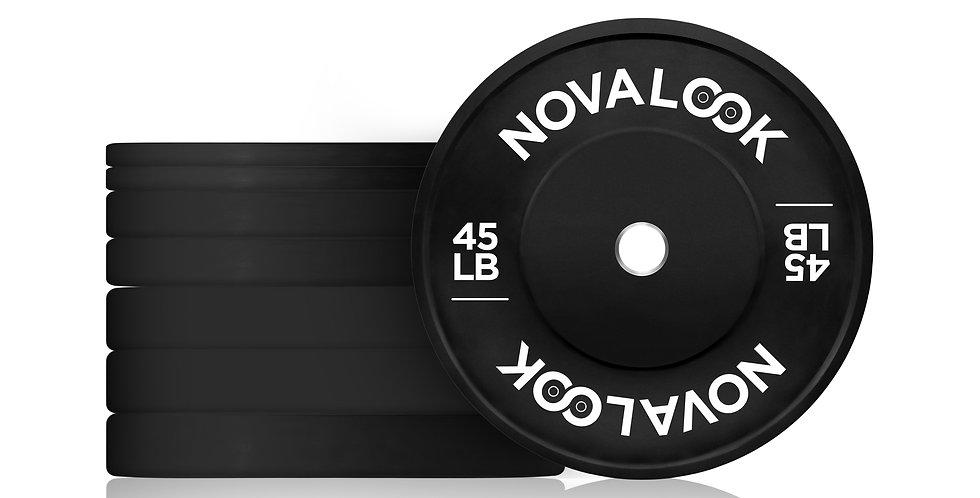 230LB Novalook 2.0 Bumper Plate Set