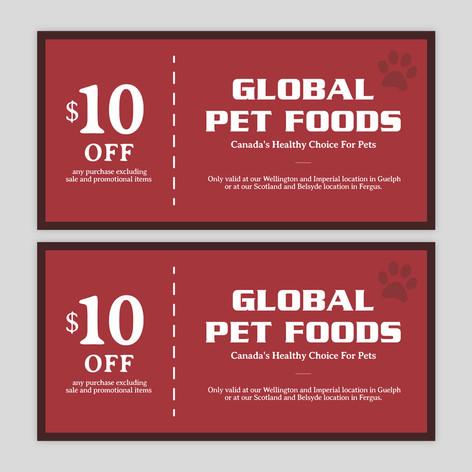 Global Pet Foods Coupon