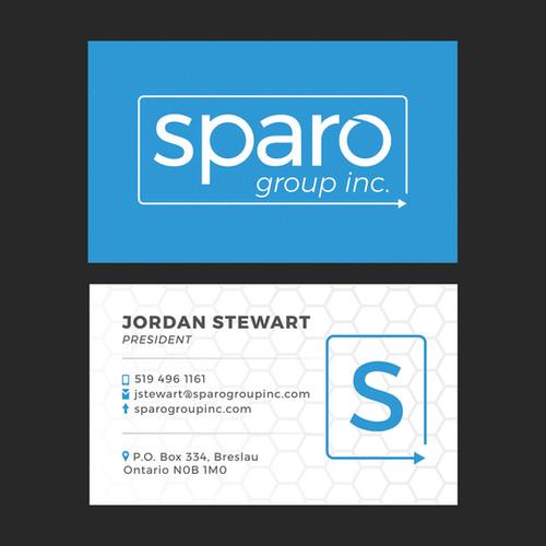 Sparo Business Card