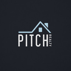 Pitch Realty Logo Design