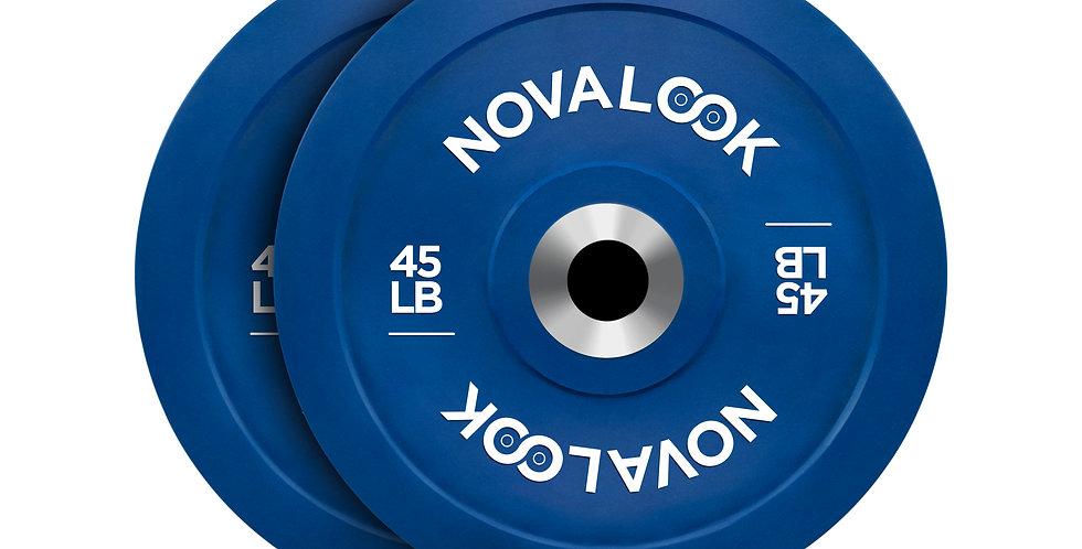 Novalook 45LB 2.0 Bumper Plate Pair